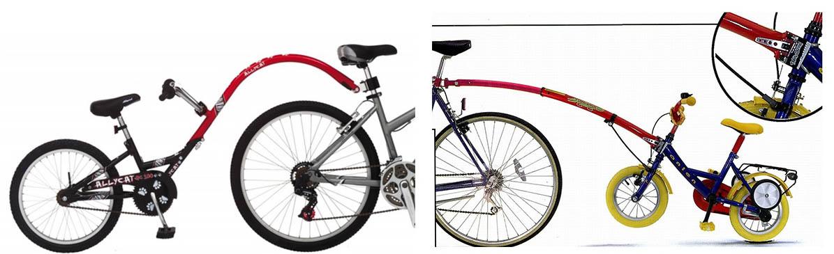 Прицеп-велосипед